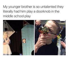 Or a dang doorknob: | 24 Reasons You Should Never Feel Useless Ever Again