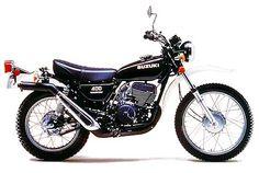 1976 TS400 Mini Motorbike, Enduro Motorcycle, Retro Motorcycle, Motorcycle Engine, Brat Cafe, Heavy And Light, Kamen Rider, Scrambler, Cool Bikes
