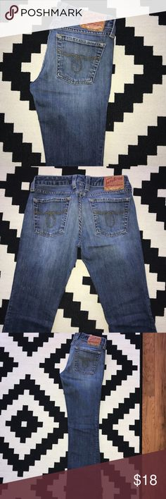 Lucky Brand Denim Jeans Nice fitting Lucky Jeans Lucky Brand Jeans Straight Leg