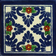 Traditional Mexican Tile - Bella Sombra
