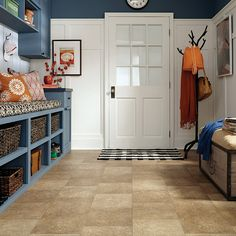 Hot Product of the Week-Relic LVS,a stained concrete look that blends refined texture with fossil-like impressions.
