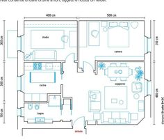 from Casa facile febbraio 2017 Make It Simple, Floor Plans, Home, Ad Home, Homes, Haus, Floor Plan Drawing, House Floor Plans, Houses