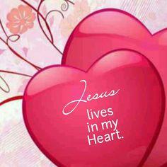 Jesus lives in my <3!!