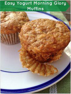 Easy Yogurt Morning Glory Muffins