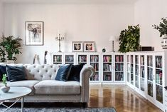"""Ikea """"Billy"""" bookcases with glass doors Ikea """"Billy"""" bookcases with glass doors Source: Pinterest and bjurfors.se Pin Board Name: Décor – Deco Design – Home Pinner username: charliea10 Pin: 736 x 491"""