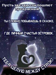 спокойной ночи картинки ммс