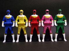 Power Rangers Zeo Keys