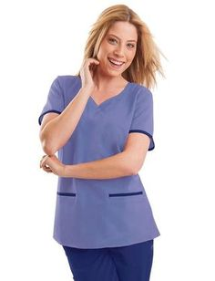 TAFFORD UNIFORMS: Healing Hands Purple Label Jamie Top, Ceil, Small Buy Now $23.99 Find at Faearch