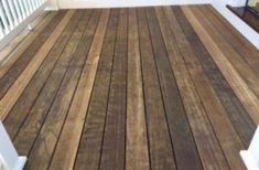 Pressure-Treated Pine Deck with Dark Oak Tone Sealer Wood Deck Stain, Dark Wood Stain, Indoor Outdoor Kitchen, Outdoor Living, Deck Maintenance, Deck Repair, Wood Surface, Home Reno, Outdoor Ideas