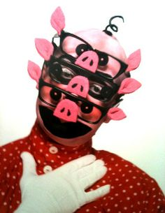 Leigh Bowery on the cover of I.D. Magazine