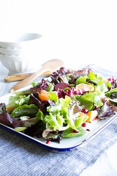 from vanilla and bean winter jeweled salad winter jeweled salad with ...