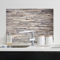 Brewster Home Fashions Stones Kitchen Panel Bird Wall Decals, Kitchen Wall Decals, Kitchen Wall Tiles, Wall Stickers, Kitchen Decor, Decorating Kitchen, Kitchen Paint, Rustic Kitchen, Country Kitchen