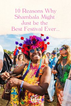 10 Reasons Why Shambala Might Just be the Best Festival Ever... - That Festival Life • Worldwide Festival Blogger Shambala Festival, Painting People, Culture Travel, Bucket, Good Things, Board, Life, Buckets, Aquarius