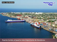 Puerto Cortes the Largest and Most Important Port in the Country of Honduras