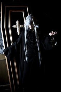 Black Butler- Undertaker Cosplay
