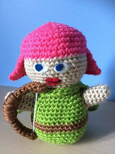 Clash of Clans/Royale Archer - free crochet pattern by KaBon Creations