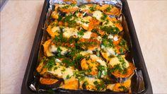 Изумительные баклажаны, запеченные с куриным филе