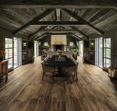 Shaded throughout as are natural wood planks, Barn Wood yields an amazing natural look to spaces when layed onto floors and walls. Perfect for a wood dining room floor. Wood Plank Tile, Wood Tile Floors, Wood Planks, Wood Floor, Porcelain Wood Tile, Wood Effect Tiles, Background Tile, Old Barn Wood, Outdoor Tiles