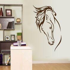 A lovas minta egy búsuló lovacskát ábrázol. Talán Téged hiányol, vár! #faltetoválás#falmatrica#lakásdekoráció#lakásfelújítás#falmatricanappaliba#nappalifelújítása#nappalidekorálása#dekormatrica#lófaltetoválás#lómatrica#lósziluett#lófalmatrica#lóminta Cool Art, Cool Stuff, Home Decor, Decoration Home, Room Decor, Home Interior Design, Home Decoration, Interior Design