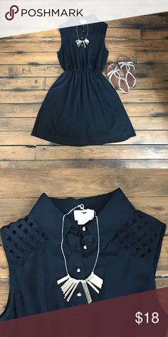 Just In ⬇️Price Drop⬇️ Little Black Dress The little black dress has never been so cute! Lattice cut outs on the shoulders provide an extra pop to make you stand out. Dresses Mini