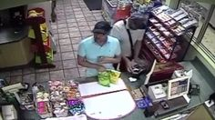 Dirt bag award goes to these two idiots Man caught on tape placing card skimmer on gas station credit card scanner in Miami Beach, Fla.