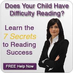 Does Your Child Have Difficulty Reading?  FREE Help...
