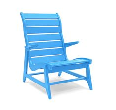 Blue rapson lounge high back from Loll Designs is a great piece of furniture!