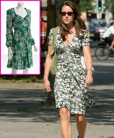 Get Kate Middleton's Style: Floral Print Dress