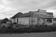 Esther, Alberta - a real life ghost town