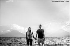 Couple shoot on Lake Atitlan, Guatemala