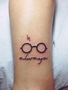 30 increíbles tatuajes que todo fanático de Harry Potter envidiaría tener