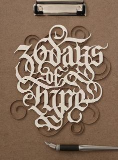 Top 10 incríveis trabalhos com papel   Design Culture