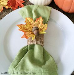 Check out 16 DIY Crafts for Fall | Acorn Napkin Rings by DIY Ready at http://diyready.com/16-diy-crafts-for-fall/