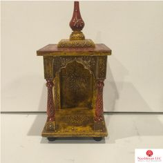 Wooden temple from Jaipur collection!