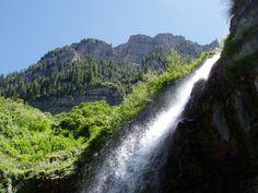 13) Lower Falls, Aspen Grove Trail, Timpanogos