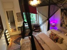 Beautiful, cozy room in 100% vegan Maida Vale flatshare. Photo: Parissa Mobasher