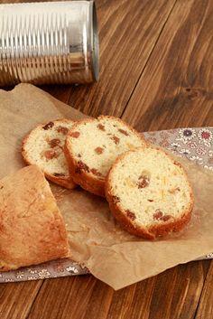 Pannetone individuel à offrir, cuit dans une boite de conserve   On dine chez Nanou