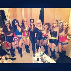 Best Inspiration Picture! Ghouls Gone Wild! Creative Girlfriend Group Costumes