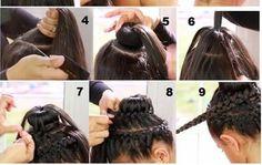 bum - bun hairstyle #bun #bunhairstyle #crophairstyle #hairstyle #fashion