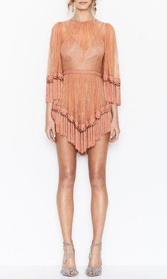 alice McCALL | alice McCALL Are You Ready Girl Mini Dress Amber - alice McCALL