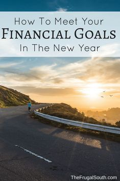 Four easy steps to help you meet your financial goals! #personalfinance #goalsetting