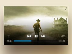 Another cool free PSD video player. Designed by Housseynou Fall. Web Design, App Ui Design, Graphic Design, Youtube Thumbnail, Ui Elements, Ui Inspiration, Smart Tv, User Interface, Phoenix