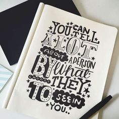 """You can tell a lot about a person by what they choose to see in you.."" - Winnie The Pooh - Typography Quotes #imnotabox"
