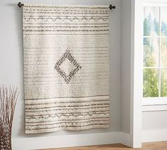 Moroccan Wedding Blanket Canvas #potterybarn