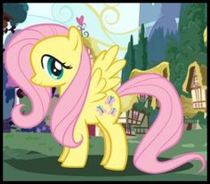 How to draw Fluttershy... this may be the best way to make a pattern.