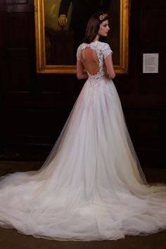 Berta bridal collection spring 2017: http://www.stylemepretty.com/2016/04/19/berta-bridal-week-spring-2017/