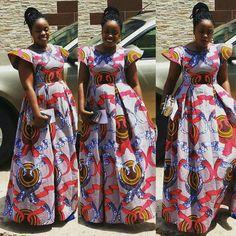 Maxi dress unique African Maxi Dresses, Ankara Dress, African Attire, African Wear, African Women, Ankara Short Gown Styles, African Fabric, Unique Dresses, Maxis