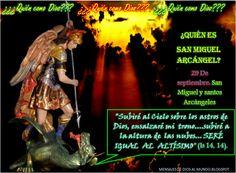 Mensajes De Dios Al Mundo: 29 DE SEPTIEMBRE FIESTA DE SAN MIGUEL, SAN GABRIEL...