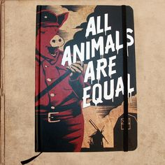 Animal Farm Notebook Journal - 240 pages – miles to go clothing