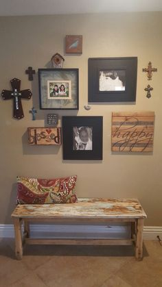 Entry Decor Coffee Table Refinish, Gallery Wall, Home Decor, Decoration Home, Room Decor, Home Interior Design, Home Decoration, Interior Design